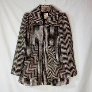 Tulle Thick Pea Coat size Small